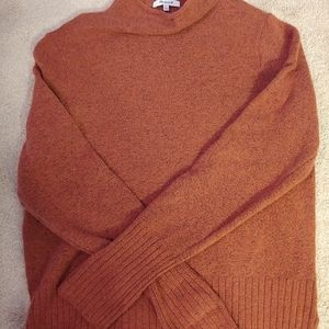 Madewell roll neck sweater